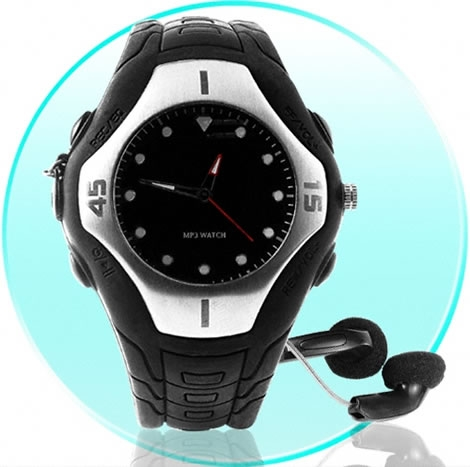 Analog MP3 watch