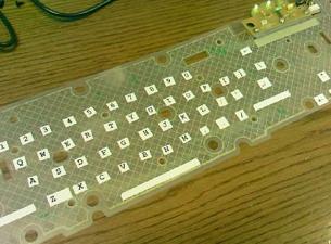 Homemade roll up keyboard